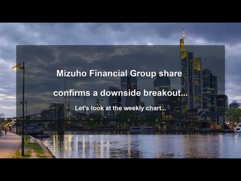 Mizuho Financial Group (8411-JT) - Downside Breakout