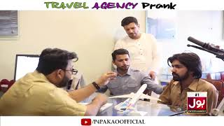 | Travel Agency Prank | By Nadir Ali & Team In | P4 Pakao | 2019