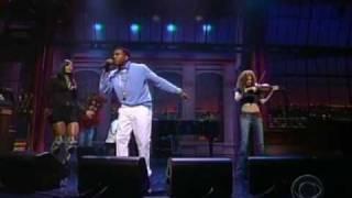 Kanye West ft Syleena Johnson & Miri Ben Ari - All Falls Down [LIVE] @ Letterman