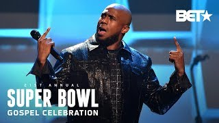 Anthony Brown & group therAPy Remind Crowd Of Their Blessings On Blessings   Super Bowl Gospel 2020
