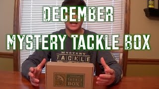 December Mystery Tackle Box #1 2014 (ice Fishing Edition)