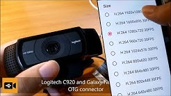 Use USB UVC H 264 WebCam on Android