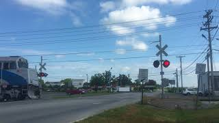 Music City Star Commuter Train Crosses Babb Avenue