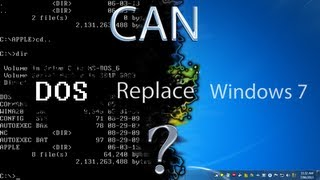 Can MS-DOS 6.22 (1994) Replace Windows 7?