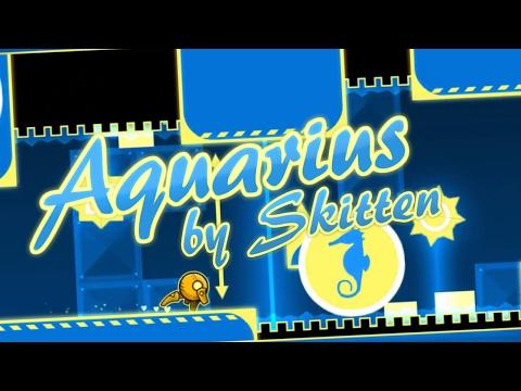 Aquarius (3 Coins) - Skitten (me) | Geometry Dash [2.1]