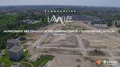 Les grandes lignes de l'éco-quartier LaVallée à Châtenay-Malabry se dessinent