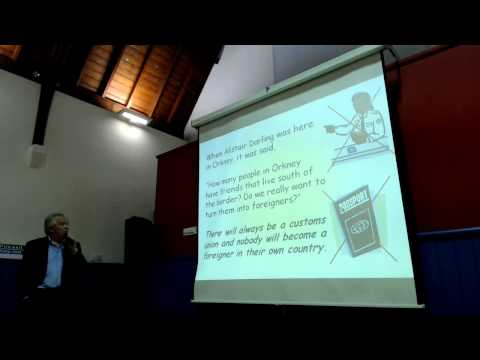 Yes Orkney Kirkwall presentation