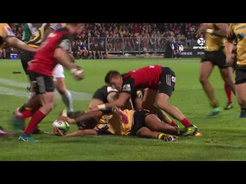 2017 Super Rugby Round 5: Crusaders v Force