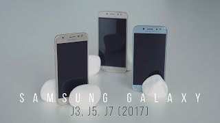 Обзор Samsung Galaxy J3, J5, J7 (2017)