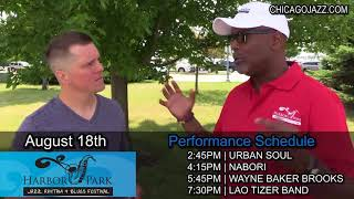 Talking Jazz with Tim Mahone from the Harbor Park Jazz Festival