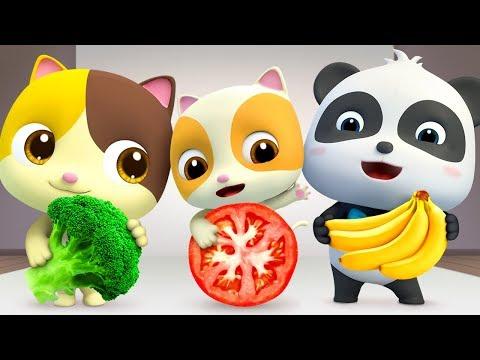 Vegetables Song | Good Habits Song | Nursery Rhymes | Kids Songs | BabyBus