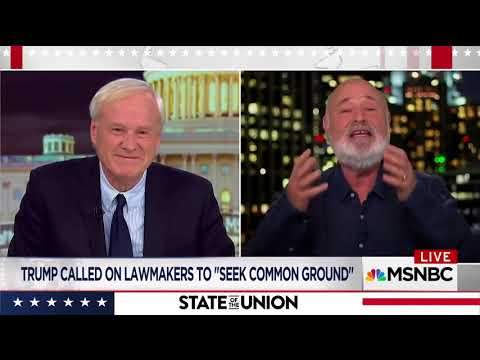 Rob Reiner feels sorry for MSNBC pundits who have to analyze Trump like he's the president