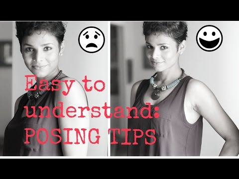 How to Pose for Camera/ Tips to look good in pictures