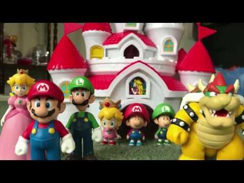 Super Mario Figure Collection Set By Banpresto 2010