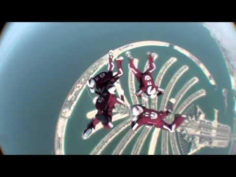 Qatar Skydiving Team Tigers