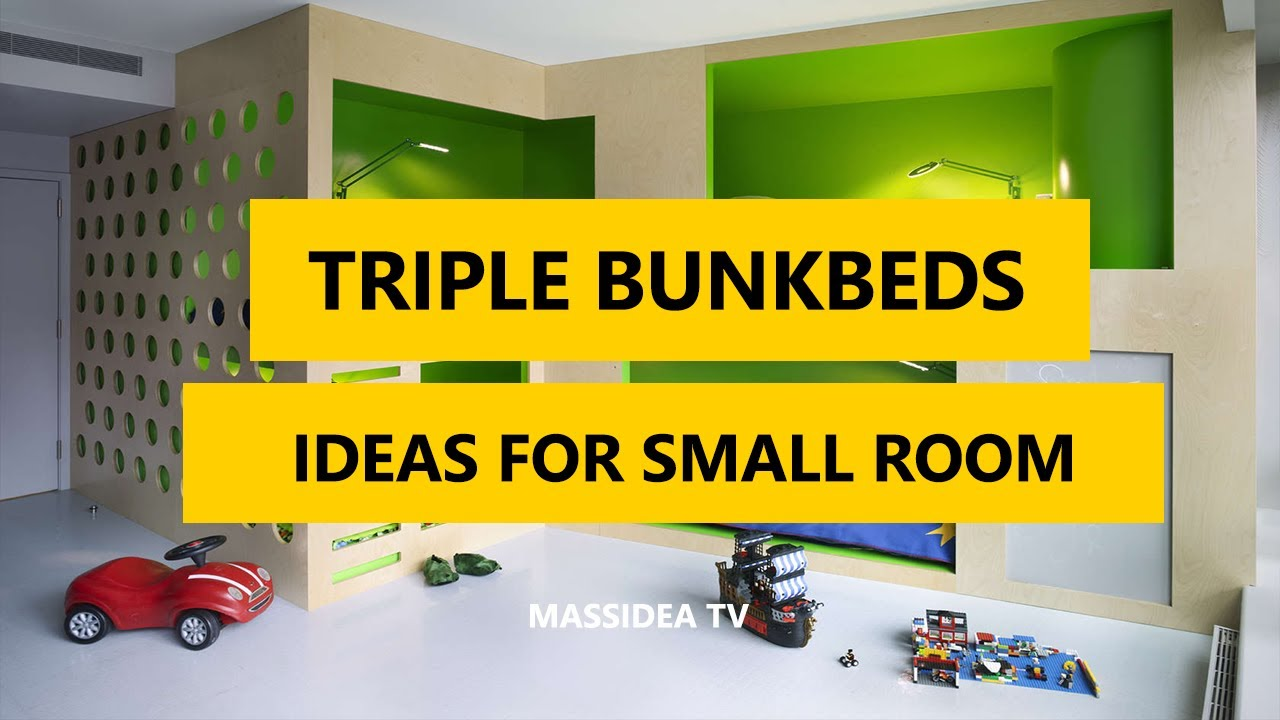 35 best triple bunk beds designs ideas for small room 2017 youtube