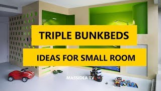 Triple Bunk Beds Designs - invest in high quality materials and select the right triple bunk bed plans. if you want to learn more about