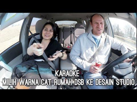 VLOG BROWSING KE DESAIN STUDIO  | MILIH WARNA CAT RUMAH DSB | KARAOKE