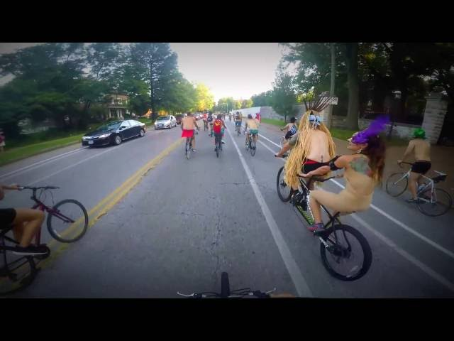 St Louis World Naked Bike Ride 2015