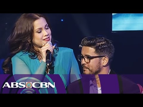 "Lea Salonga sings ""Sana Maulit Muli"" with Aga Muhlach"