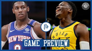 New York Knics vs Indiana Pacers Game Preview
