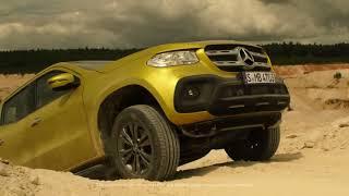 видео Первый в мире премиум-пикап от Mercedes-Benz