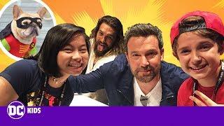 SD Comic-Con: WE MEET THE JUSTICE LEAGUE CAST!   DC KIDS SHOW