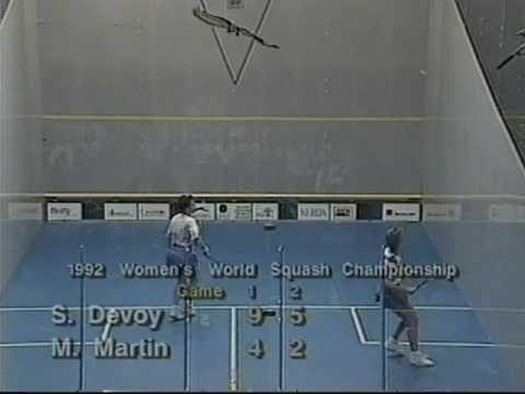 Susan Devoy  Michelle Martin  1992 Women's World Championship Part 3