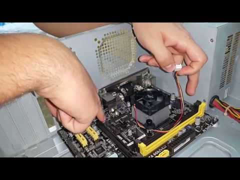 AM1 AMD KABINI ATHLON 5350 INSTALAÇÃO!