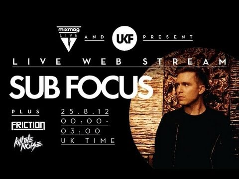 Sub Focus interview at  Mixmag Live