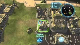 Halo Wars - On the Defensive - Skirmish 1v1 on Legendary - Part 1