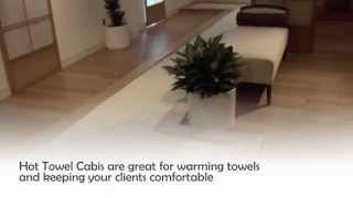 Hot Towel Cabinets - Towel Warmer Cabinet - Salon Towel Cabi