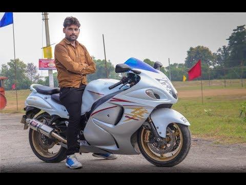 Suzuki Hayabusa Ride And Walkaround Review In Hindi