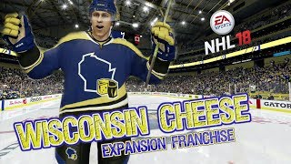 NHL 18 Expansion Franchise with the Wisconsin Cheese EP1 Expansion & Entry Draft, 1st Preseason Game