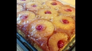 Pineapple Upside-down Cake (from Scratch)