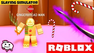 The GINGERCUP is going AROUND the THROAT in CANDY LAND ⚔️ Slaying Simulator | ROBLOX | tNo CZ/SK