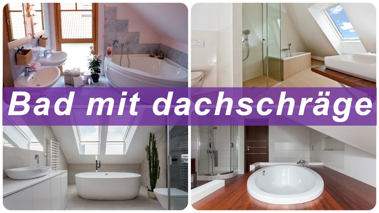 bad mit dachschr ge youtube. Black Bedroom Furniture Sets. Home Design Ideas