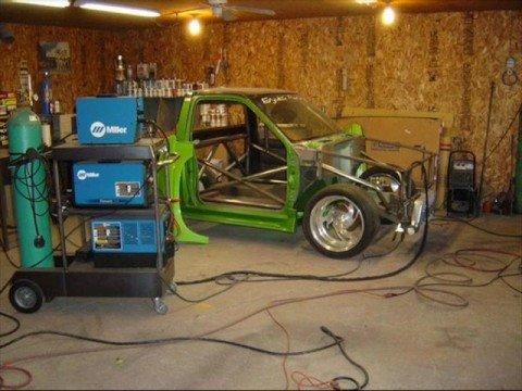1995 Nissan Hardbody built SR20 turbo - YouTube
