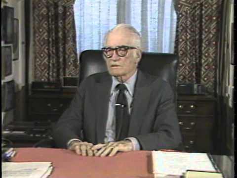 Barry Goldwater Documentary Part I - KVOA/Tucson 1983