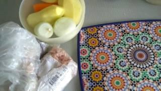 Диетический детский суп с фрикадельками.