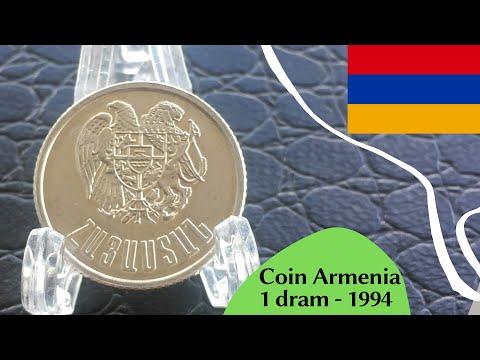 Coin Armenia 1 Dram 1994  - Հայաստանի Հանրապետություն