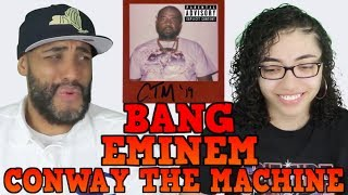 MY DAD REACTS TO Conway the Machine x Eminem - BANG REACTION
