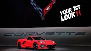 World Premiere 2020 Chevrolet Corvette C8 Reveal! (Full Video)