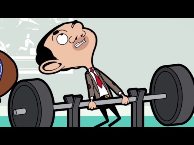 Mr Bean | Muscle Bean | Comic Compilation