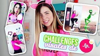 ¡GRABO CHALLENGES VIRALES de MUSICAL.LY en VIVO! - DAME TU COSITA, SCOOBY DOO PAPA Y MÁS!! || BP ♡