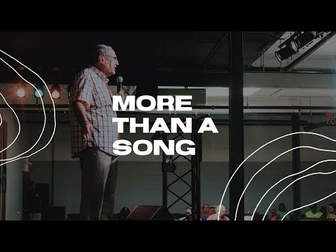 More Than A Song - Pastor Gary Fishman