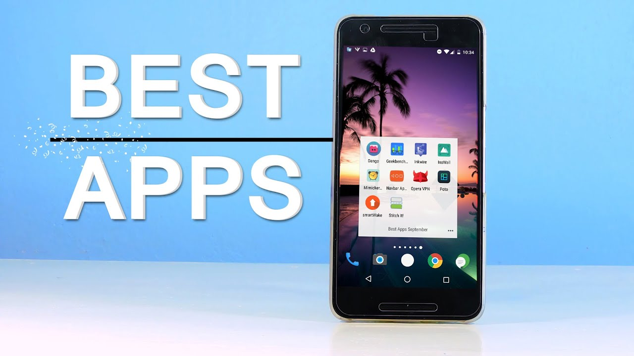 top 10 new best android apps september 2016 wallpaper pack
