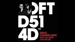 Download Benji Candelario featuring Lisa Shaw 'You Got Me' (Benji Candelario Groove Rendition) MP3 song and Music Video