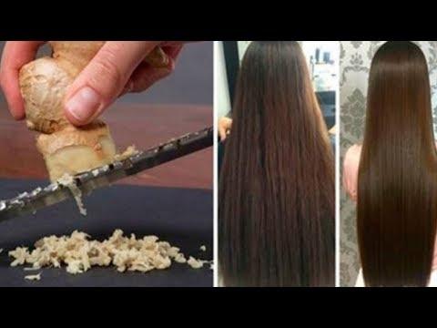 Benutze Ingwer für die Haare und schau was passiert!