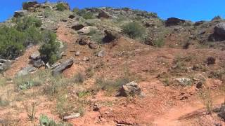 GSL Trail at Palo Duro Canyon State Park